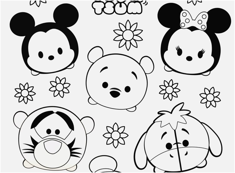 tsum tsum coloring pages footage disney tsum tsum mickey