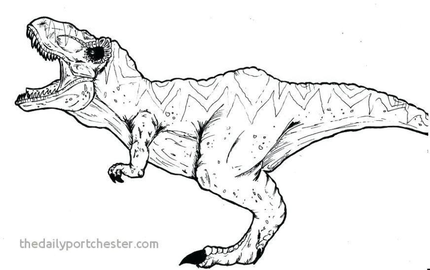 tyrannosaurus rex coloring pages t dinosaur colouring lovely
