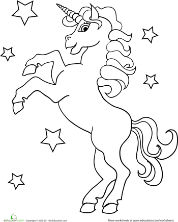unicorn coloring page emmas first birthday rainbows and