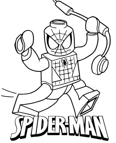 Spiderman Coloring Pages - Far From Home Coloring Sheets | 493x400