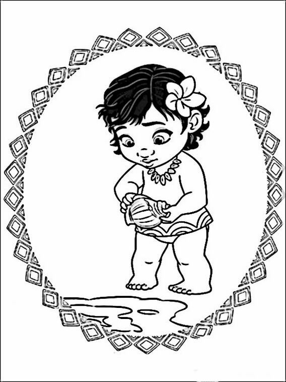 vaiana moana coloring pages 9 cricut explore air 2