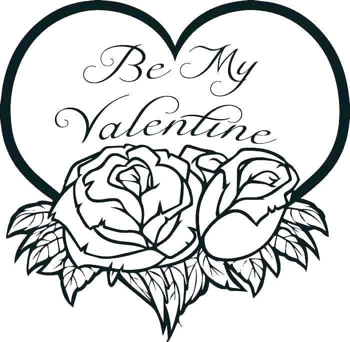 valentine heart coloring pages best coloring pages for kids