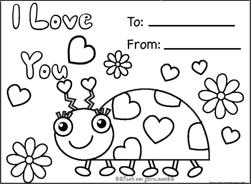 valentines day coloring pages at getdrawings free for