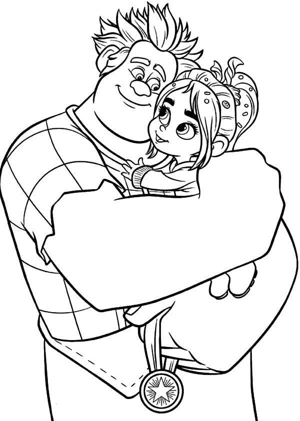 vanellope wreck it ralph coloring pages wreck it ralph wreck