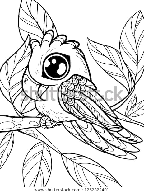 Cute Animals Coloring Pages Picture Whitesbelfast