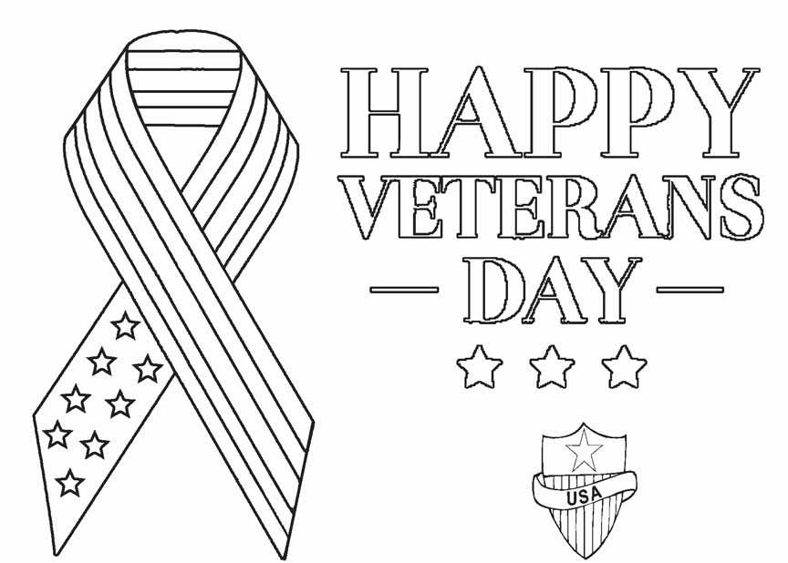 veterans day coloring pages veterans day coloring pages