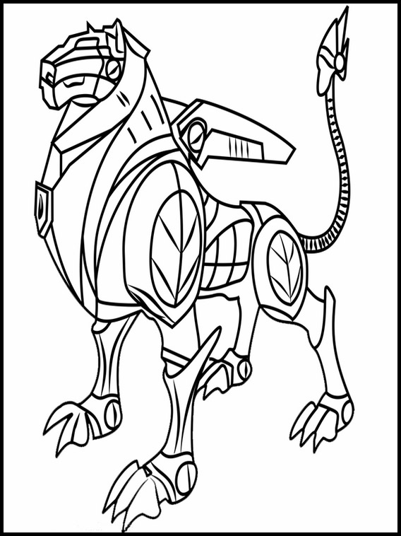 voltron legendary defender printable coloring pages 3
