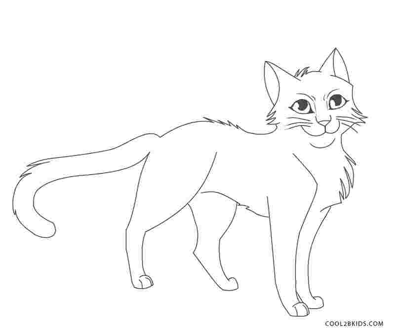 Warrior Cats Coloring Pages Idea - Whitesbelfast