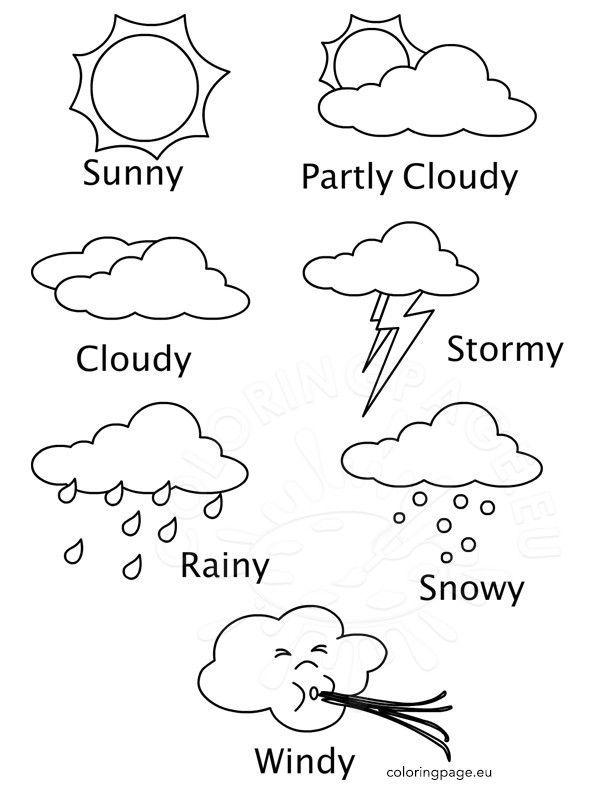 weather color sheets weather colouring sheets top 89 weather