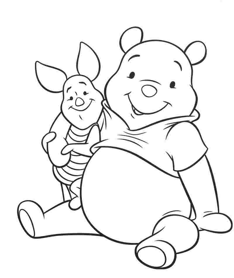 winnie the pooh winter coloring pages winnie the pooh