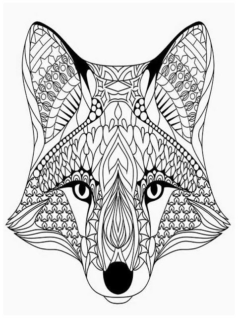 wolf head coloring pages at getdrawings free for