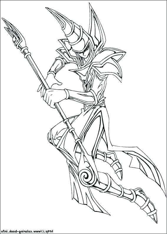 yu gi oh coloring pages card wohnzimxyz
