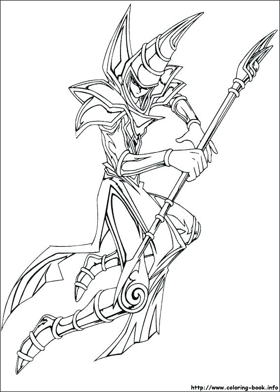 yu gi oh coloring pages vogelrechte