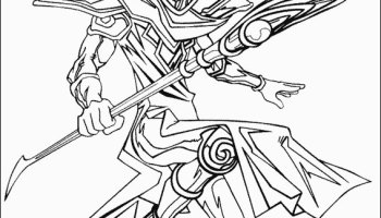 Yu-Gi-Oh Creator Revisits Original Anime by Making Coloring Book ... | 200x350