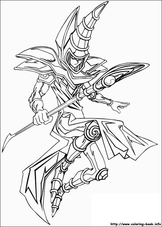 yugioh pictures to print and colour pusat hobi