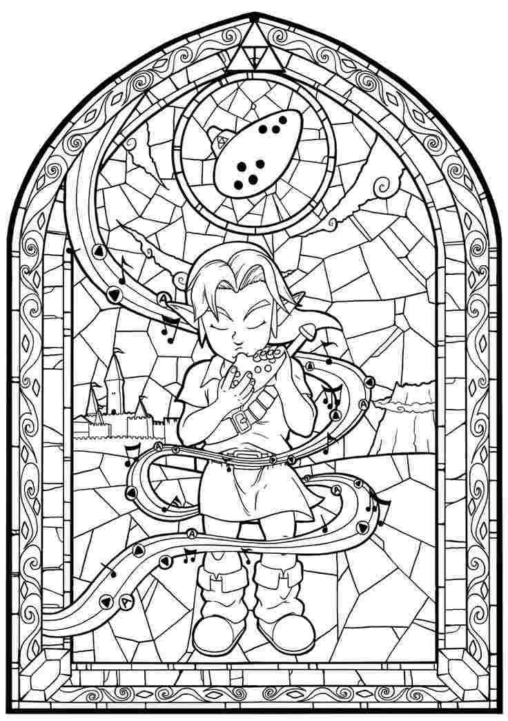 zelda coloring pages breath of the wild zelda breath of the