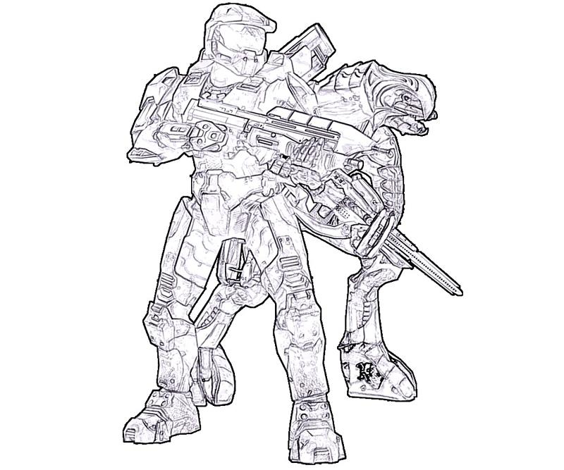 free halo coloring pages free download free clip art free