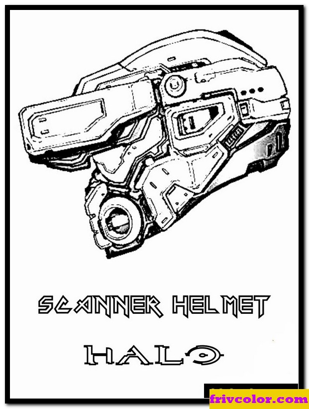 halo for boys 3 friv free coloring pages for children