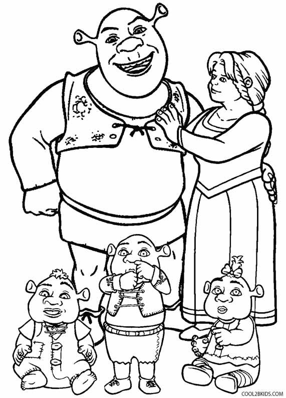 shrek coloring pages with images coloring pages disney