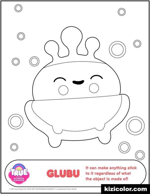 true and the rainbow kingdom coloring pages kizi