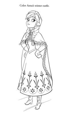 196 best frozen coloring page images