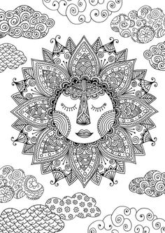 318 best trippypsychedelic coloring pages images