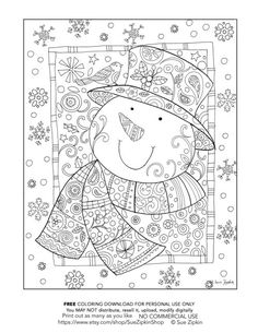 334 best adult coloring christmas images christmas