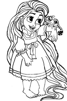 9 top rapunzel coloring pages images coloring book