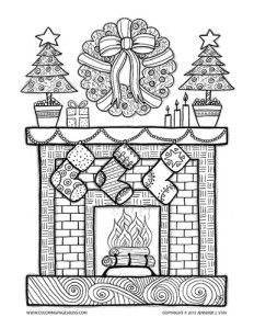 adult coloring pages coloring pages christmas coloring