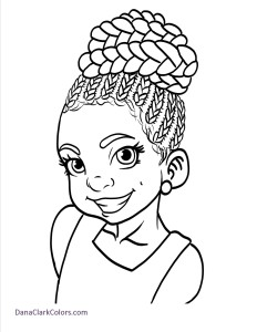 african american girl drawing at getdrawings free download