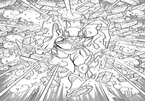 amazing flash coloring pages flash coloring pages