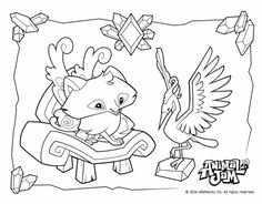 animal jam coloring pages coloring kids coloring pages