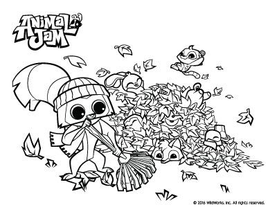 animal jam coloring pages the daily explorer animal jam