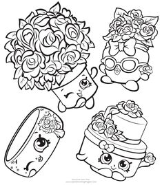 banana splitty shopkins coloring page free shopkins clip