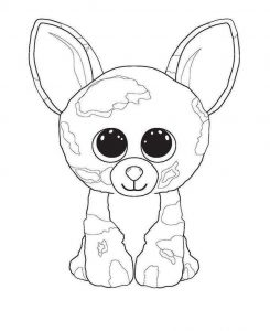 beanie boo coloring pages for your kids free coloring sheets
