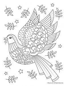 beautiful printable christmas adult coloring pages woo