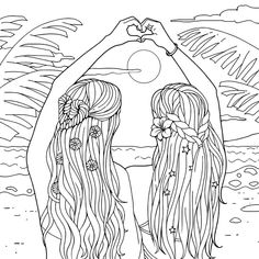 bestie people coloring pages cute coloring pages cool
