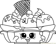 birthday betty shopkins coloring page free shopkins