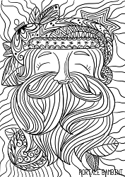 christmas coloring pages for adults printable for free