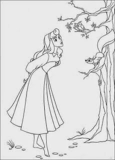 coloring pages princess aurora free printable coloring pages