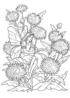 coloring sheets printables difficult fairies coloring