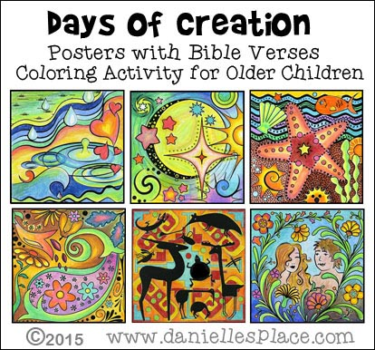 creation crafts and activities for sunday school