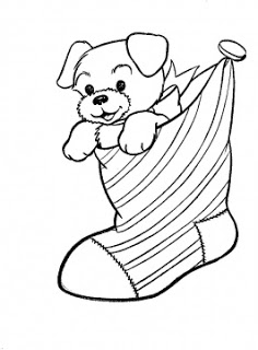 cute and better christmas stocking coloring pages