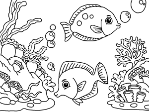 deep sea coloring pages at getcolorings free
