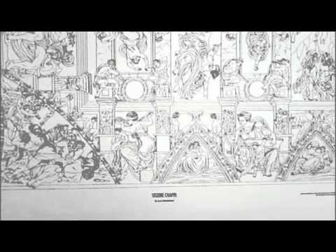 doodle art sistine chapel coloring poster youtube