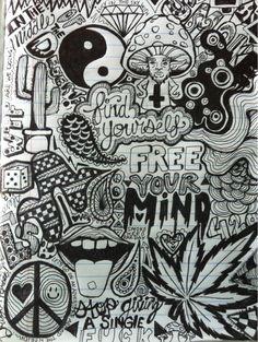 draw it yourself diy marijuana leaf all seeing high