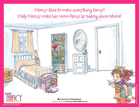 fancy nancy printable activities fancynancyworld