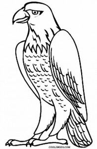 free printable bald eagle coloring pages for kids school