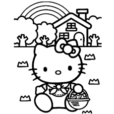hello kitty mermaid coloring pages at getcolorings