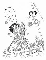 kakamora from moana coloring page free coloring pages online